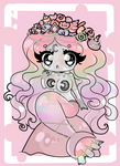 MerMay Adopt: Rare Moonsparkle [CLOSED] by StrawberryDani