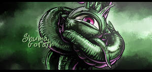 Shuma Gorath by Sp1raL-ART