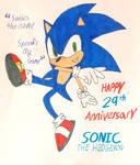 Happy 29th Anniversary Sonic the Hedgehog!