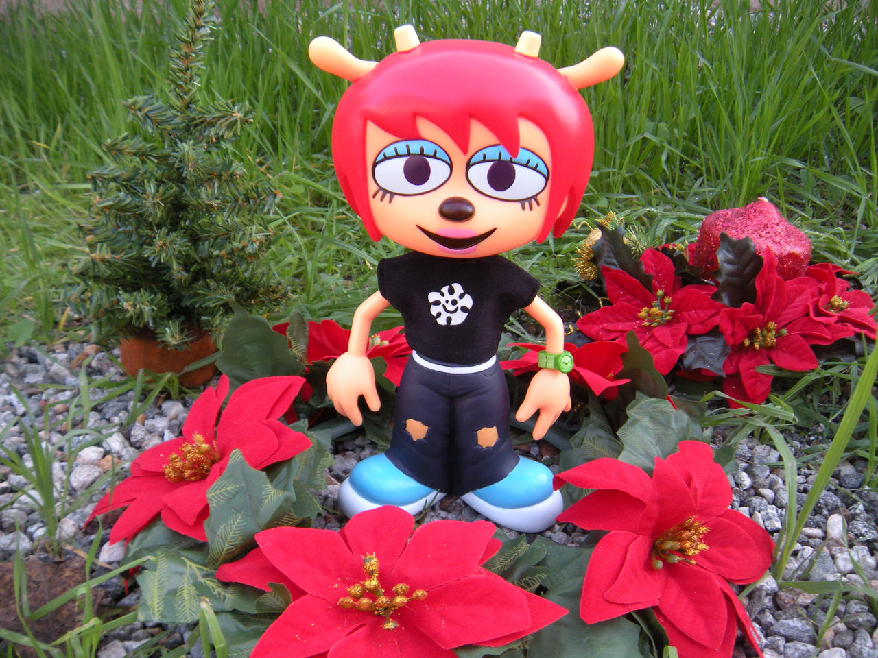 Um Jammer Lammy Medicom figure by PokepictureFigurefun