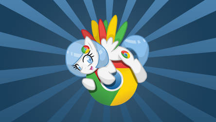 'Chrome Poni' - Wallpaper
