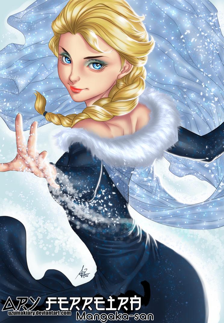 Elsa2017 Artgerm by UzumakiAry