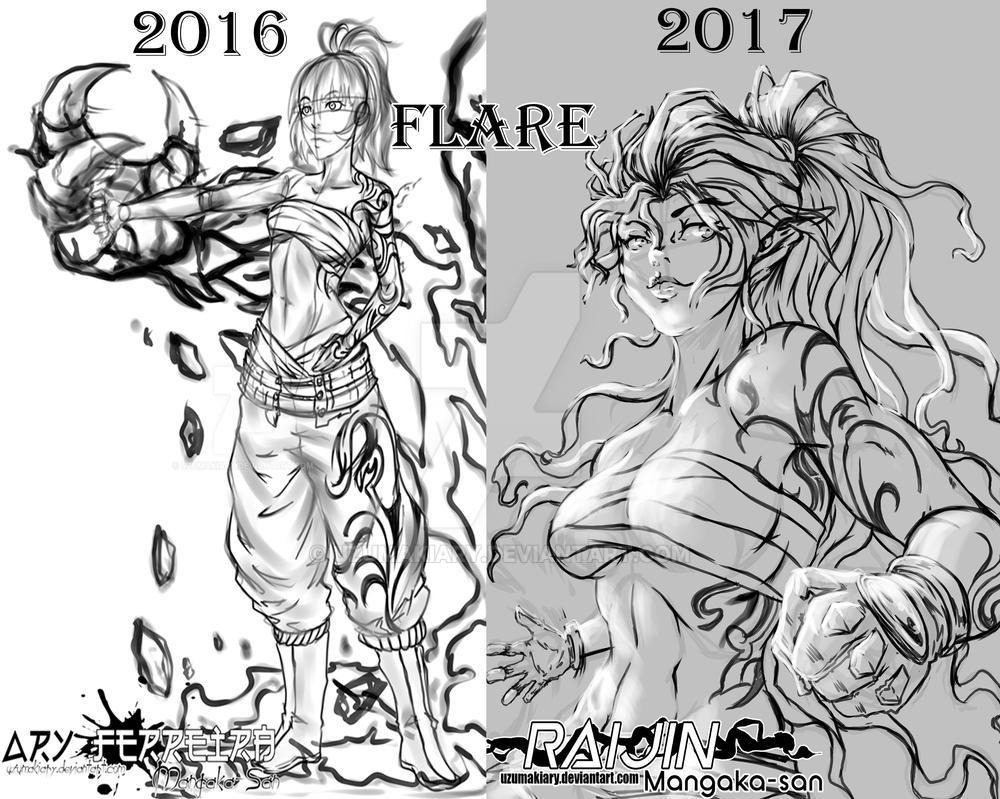Evolution Flare by UzumakiAry