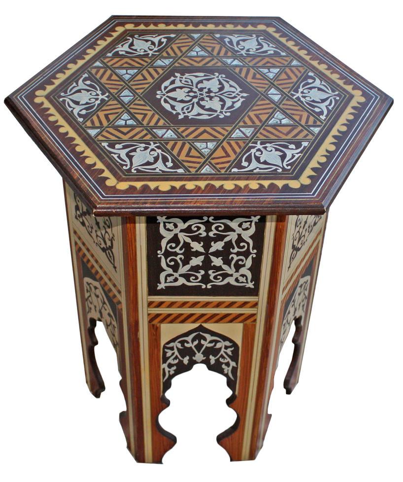 Ottoman Style Coffee Table by birsenmahmutoglu on DeviantArt