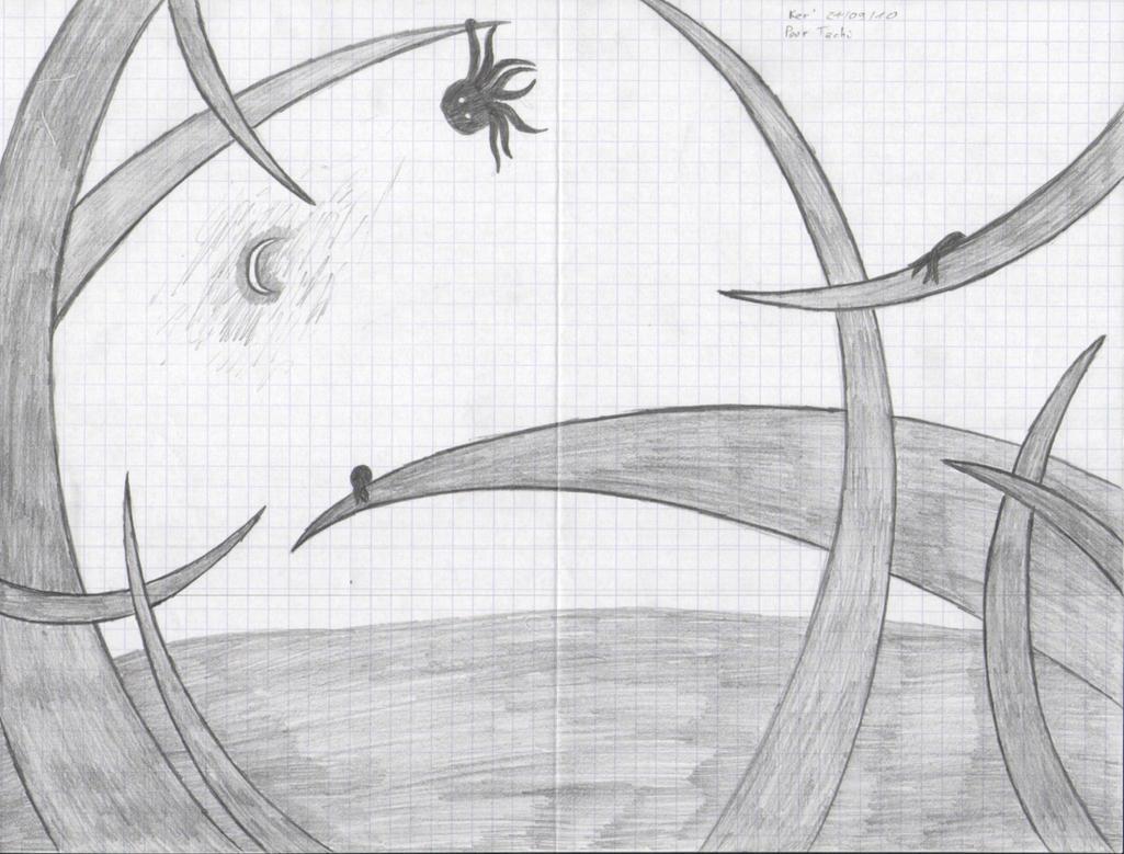 Octopus World by Raczaron