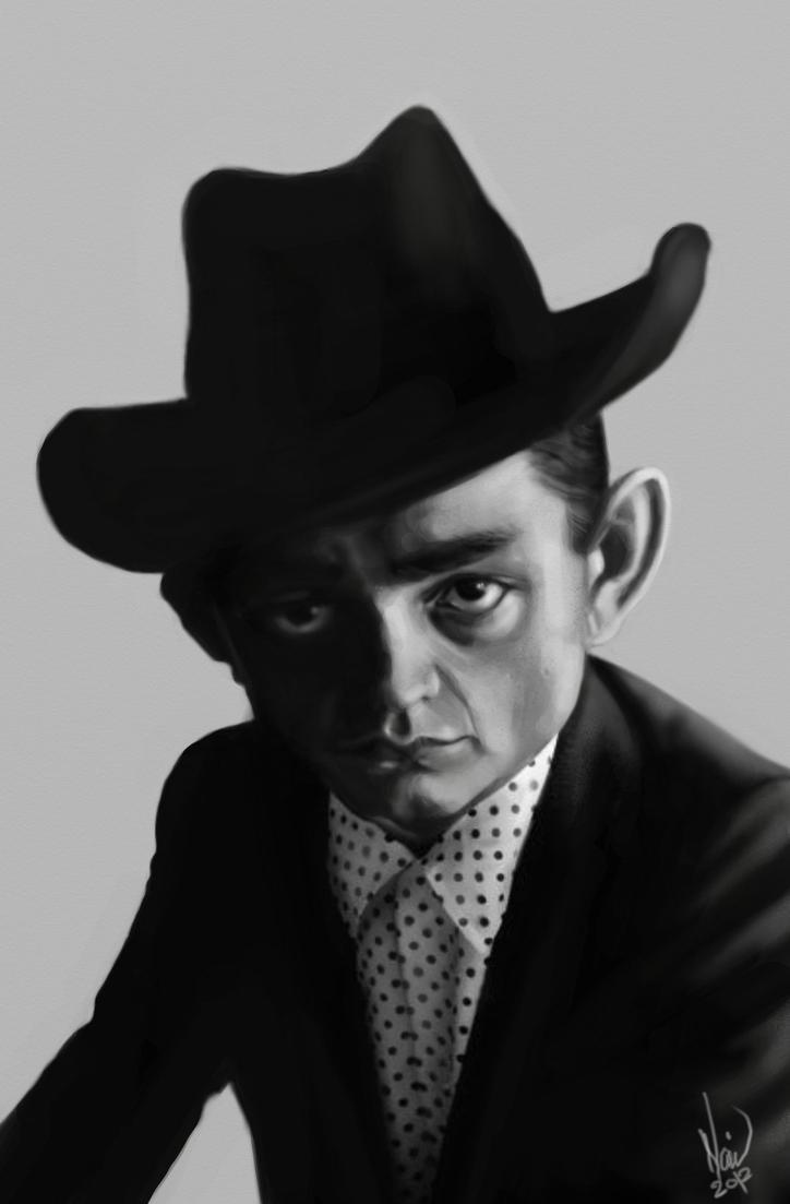 Johnny Cash by Navid1