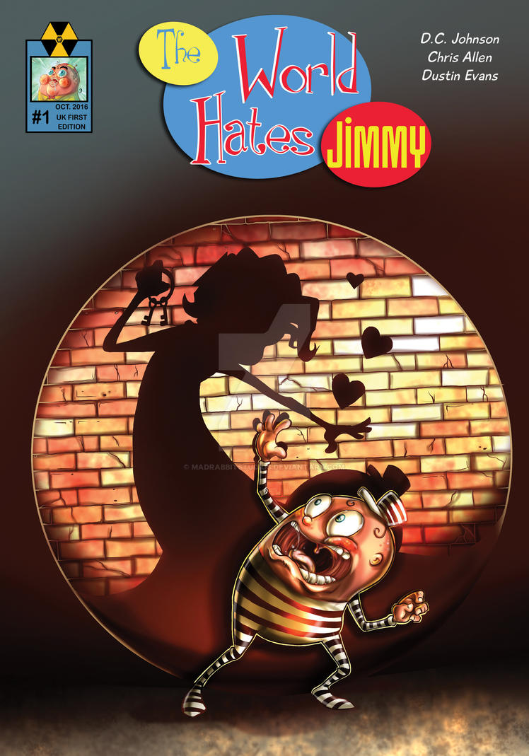 The World Hates Jimmy #1 Cover by MadRabbitStudios