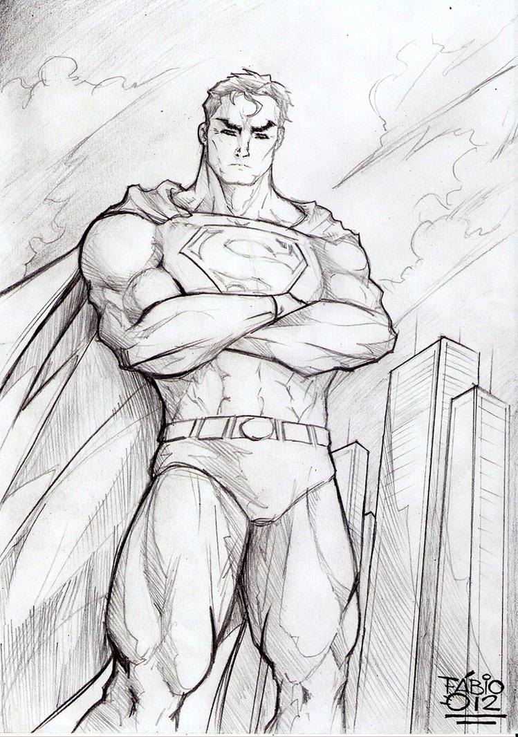 Superman Pencil Art by...