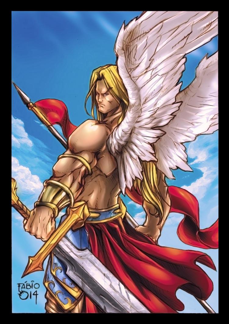 Angel Warrior - Final by FABIOMETALCORE