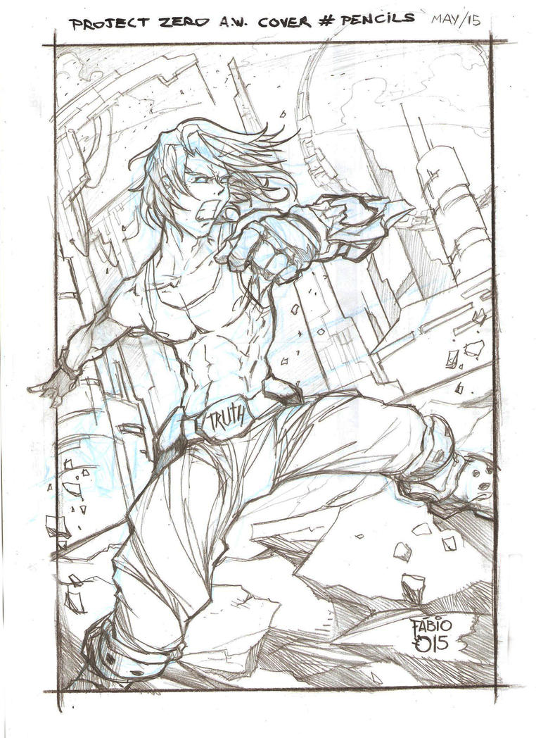 PROJECT ZERO A.W. (PENCILS - COVER - MAY - 2015) by FABIOMETALCORE