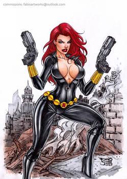 Black Widow by Fabio Simao - FOR SALE