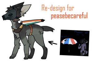 Re design for pleasebesafe by silly-sweetness
