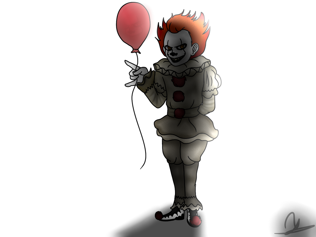 Pennywise the dancing clown by SodaNya