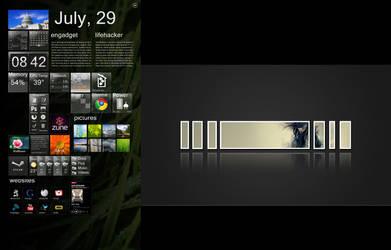 Dual Monitor Setup July 2010 by Viper0603