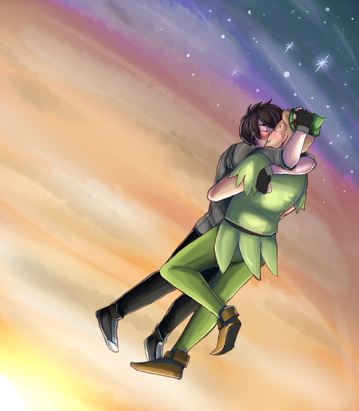 Peter Pan and His Lost Boy by kingburu - 613.7KB