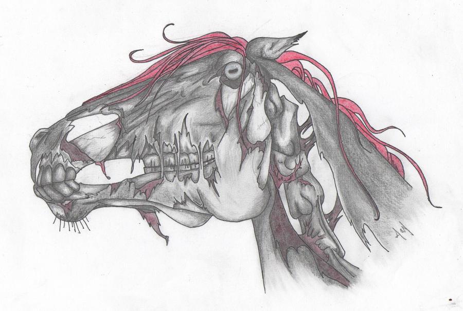 Zombie Horse by Joyprillard on DeviantArt