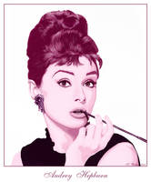 Audrey Hepburn by demonika