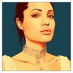 Angelina Jolie by demonika