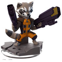 Rocket Raccoon Disney Infinity 2.0 by MattThorup