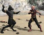 Sword Fight Render 1