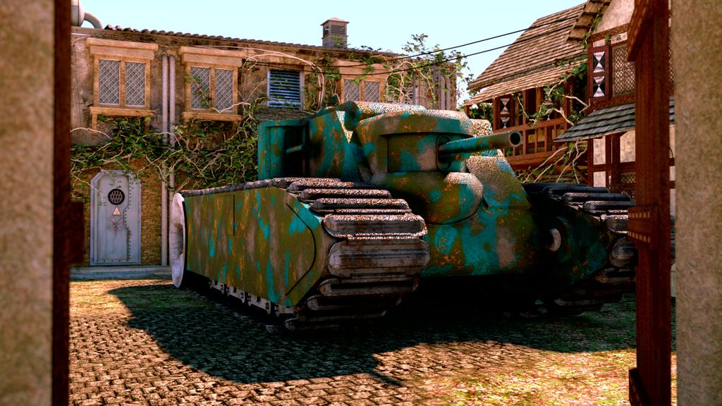 Model C Tank 1935 by Rakceyen