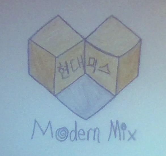 Modern Mix Logo- Updated by JiminsJams47