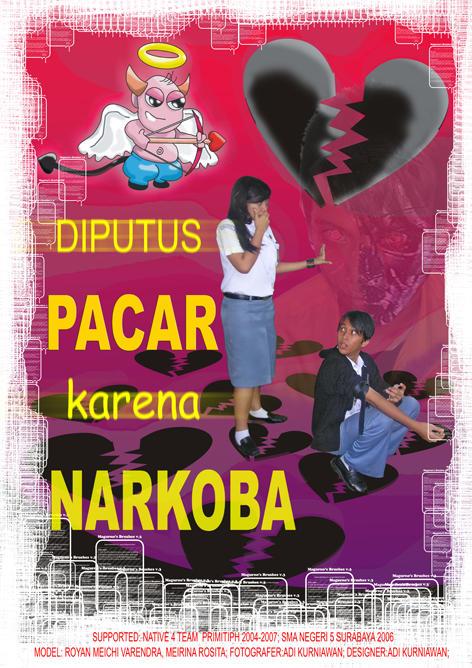poster narkoba by akoor