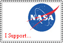 Nasa stamp by Tsiphone