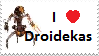 Droideka Lovers Stamp by M591