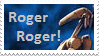 Battledroid Stamp: Roger Roger by M591