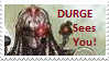 Durge Sees You Stamp by M591