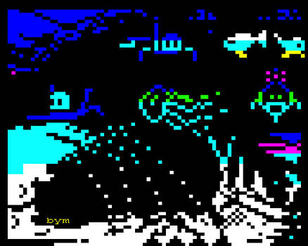 Dive! In teletext