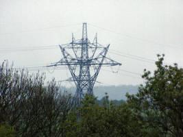 Three Power Lines by UrbanIndustries