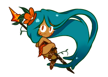 Tiger Lily Cookie by emptyruby
