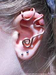 Copper Ear Cuff