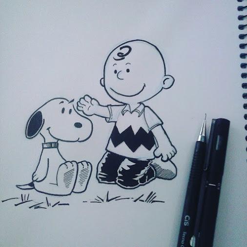 Peanuts sketch by CamposBane