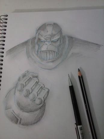 Thanos sketch by CamposBane