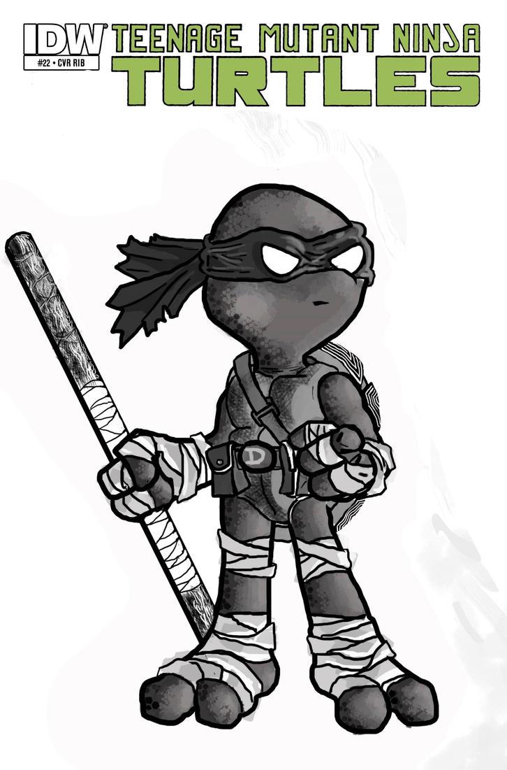 Donatello Sketchcover by CamposBane