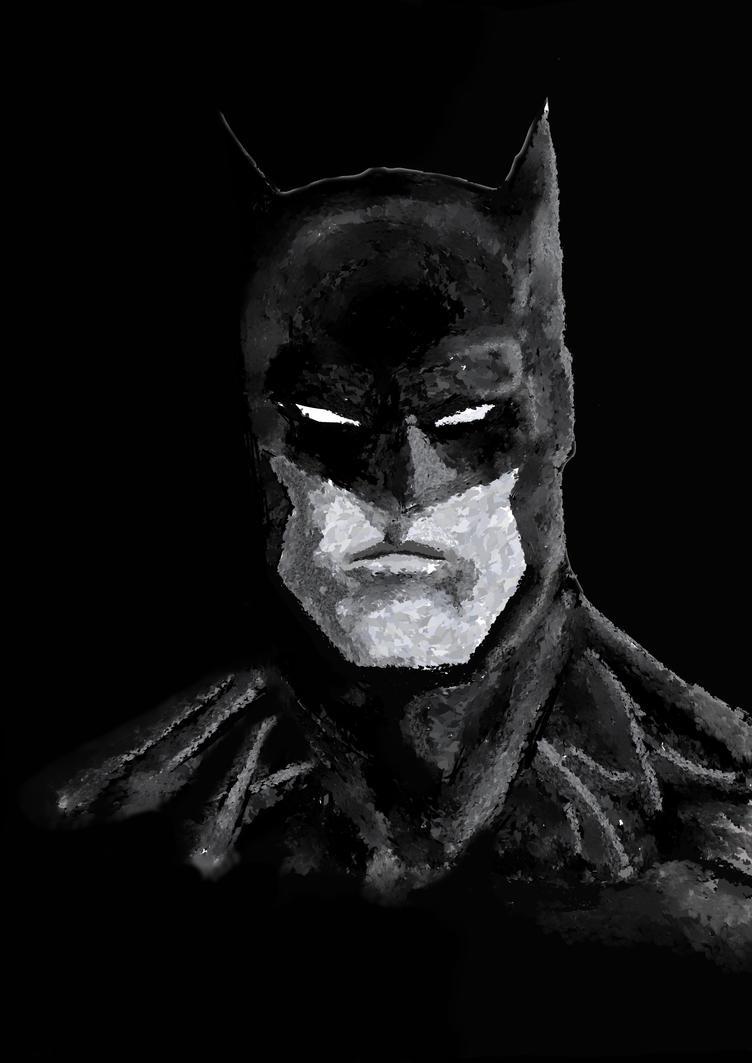 Batman sketch by CamposBane