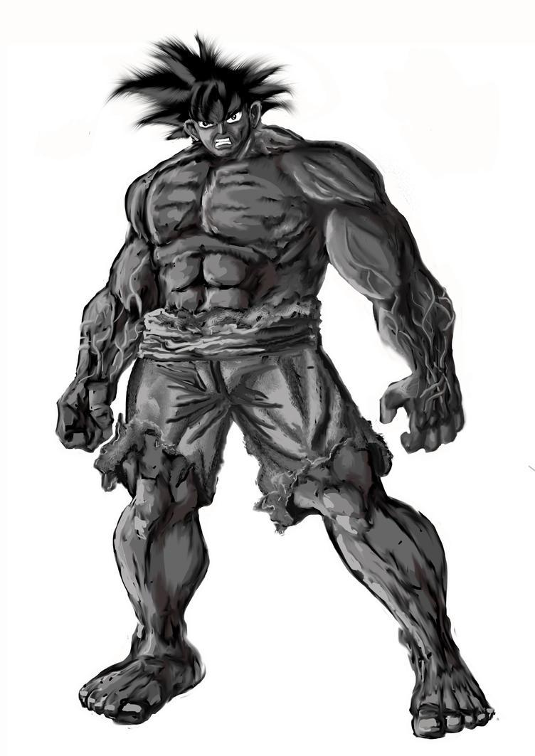 Monster Goku by CamposBane