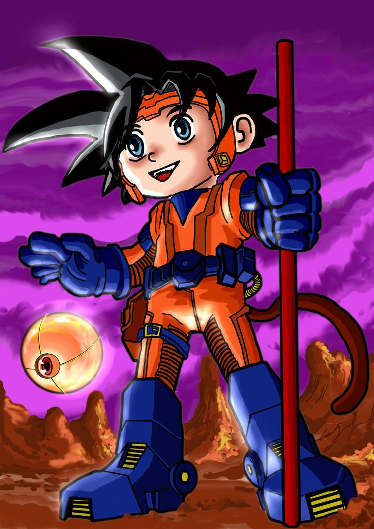 Futurist Kid Goku by CamposBane