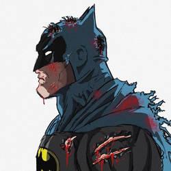 BATTLE DAMAGE BATMAN