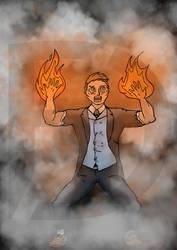 Blaze man