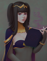 Patreon Commission: Tharja by neozumi