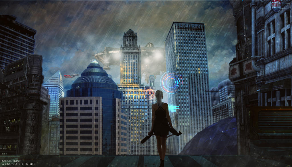 A Vision Of The Future by SamHuntPhotoshop