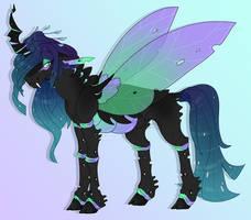 Violet - Luna X Chrysalis
