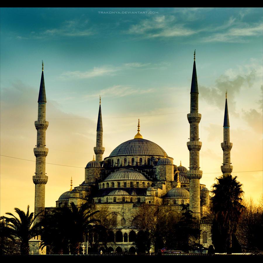 Sultanahmet Camii by Trakonya on DeviantArt