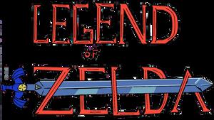 'Legend of Zelda...time' Logo