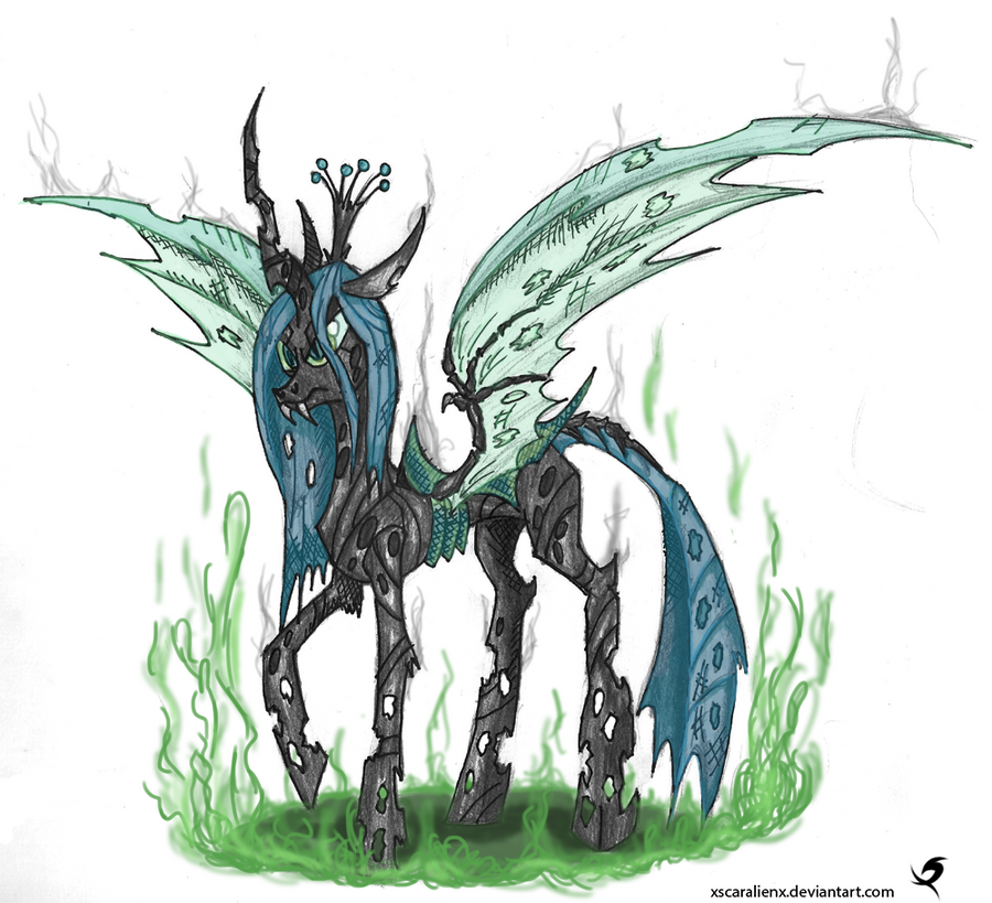 queen chrysalis hipster - photo #32