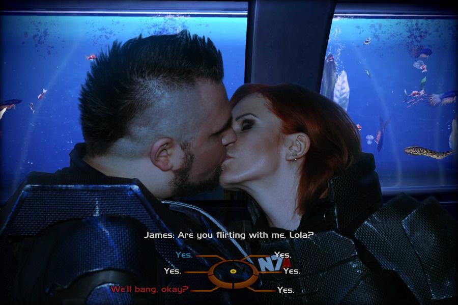 James Vega and Commander Shepard of Mass Effect by Vocoder